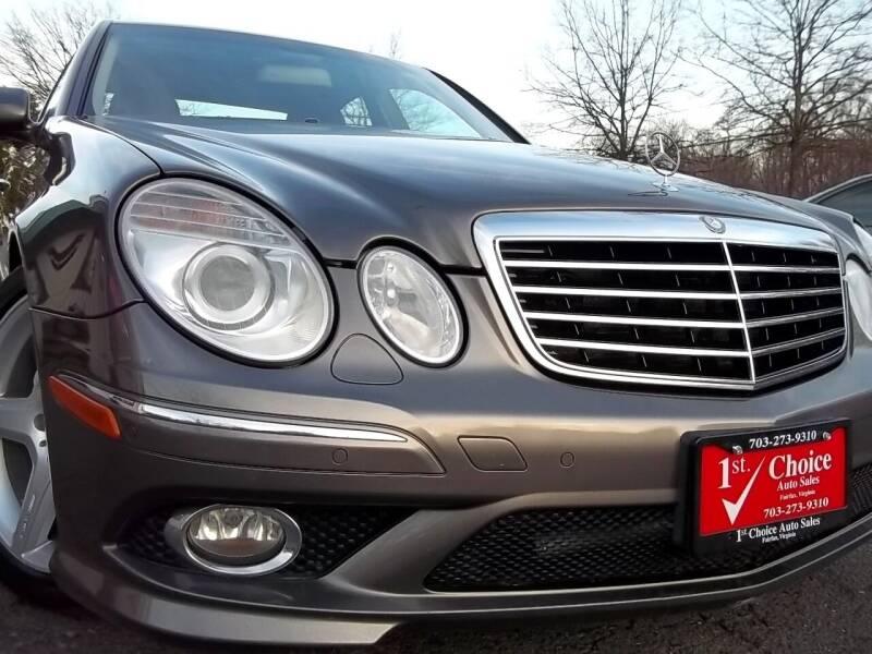 2009 Mercedes-Benz E-Class for sale at 1st Choice Auto Sales in Fairfax VA