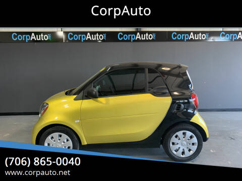 2016 Smart fortwo for sale at CorpAuto in Cleveland GA