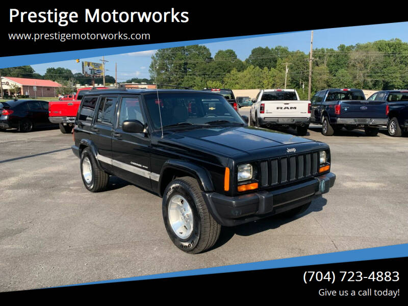 2001 Jeep Cherokee for sale at Prestige Motorworks in Concord NC