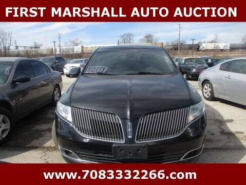 2016 Lincoln MKT Town Car for sale at First Marshall Auto Auction in Harvey IL