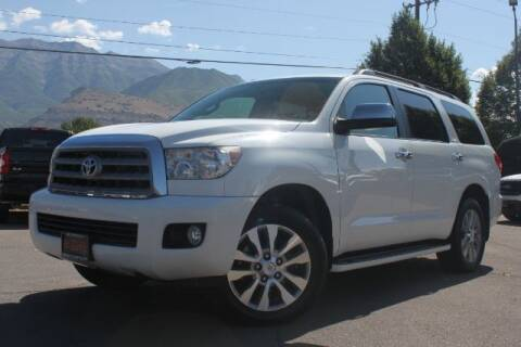 2011 Toyota Sequoia for sale at REVOLUTIONARY AUTO in Lindon UT