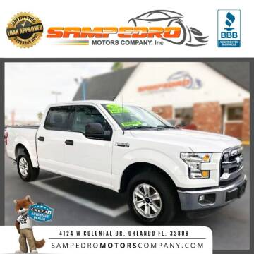 2015 Ford F-150 for sale at SAMPEDRO MOTORS COMPANY INC in Orlando FL