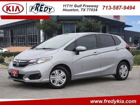 2019 Honda Fit for sale at FREDY KIA USED CARS in Houston TX