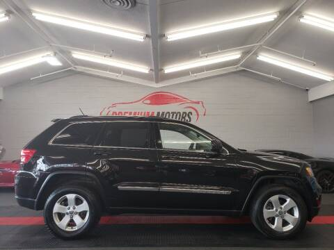 2012 Jeep Grand Cherokee for sale at Premium Motors in Villa Park IL