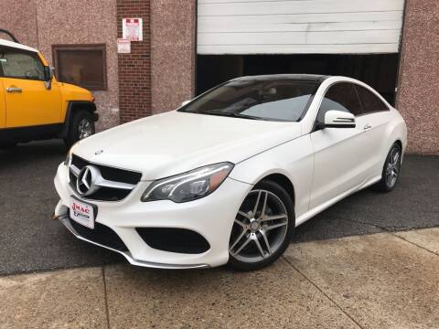 2016 Mercedes-Benz E-Class for sale at JMAC IMPORT AND EXPORT STORAGE WAREHOUSE in Bloomfield NJ