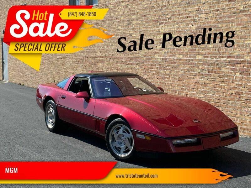 1990 Chevrolet Corvette for sale at MGM CLASSIC CARS in Addison IL