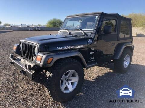 2004 Jeep Wrangler for sale at Auto House Phoenix in Peoria AZ
