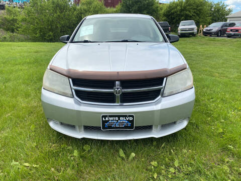 2008 Dodge Avenger for sale at Lewis Blvd Auto Sales in Sioux City IA