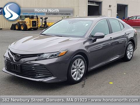 2020 Toyota Camry for sale at 1 North Preowned in Danvers MA