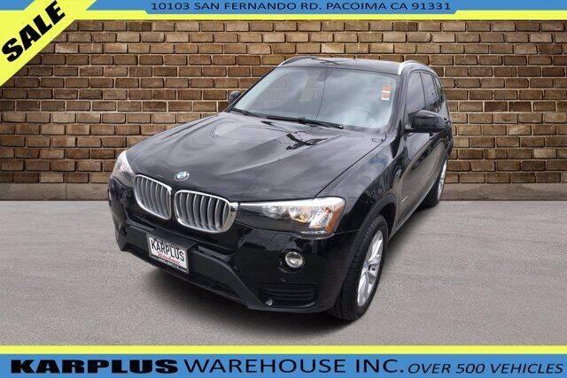 2017 BMW X3 for sale at Karplus Warehouse in Pacoima CA
