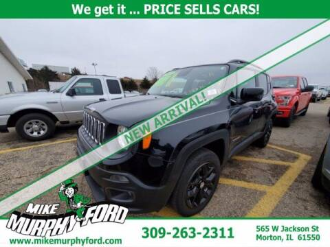 2017 Jeep Renegade for sale at Mike Murphy Ford in Morton IL