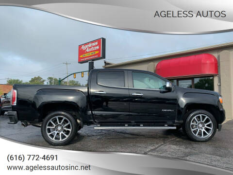 2018 GMC Canyon for sale at Ageless Autos in Zeeland MI