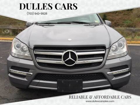 2012 Mercedes-Benz GL-Class for sale at Dulles Cars in Sterling VA