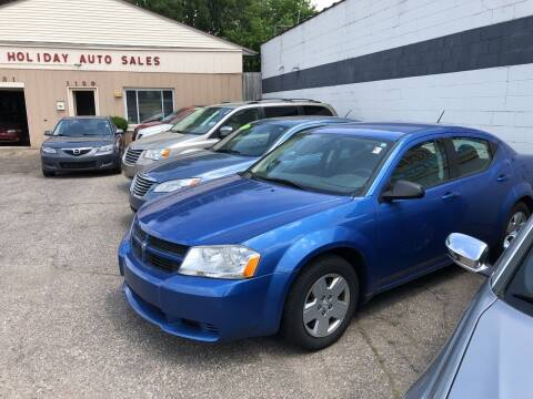 2008 Dodge Avenger for sale at Holiday Auto Sales in Grand Rapids MI