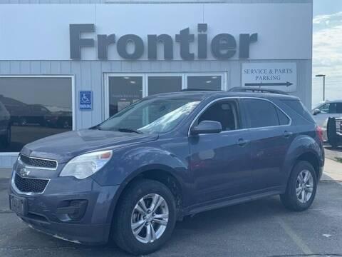 2013 Chevrolet Equinox for sale at Frontier Motors Automotive, Inc. in Winner SD