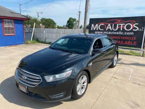 2014 Ford Taurus for sale at MC Autos LLC in Pharr TX