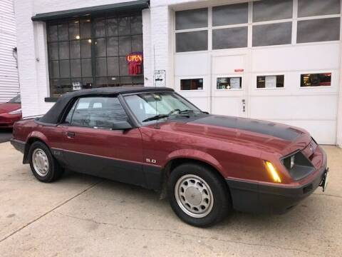 1986 Ford Mustang for sale at Carroll Street Auto in Manchester NH