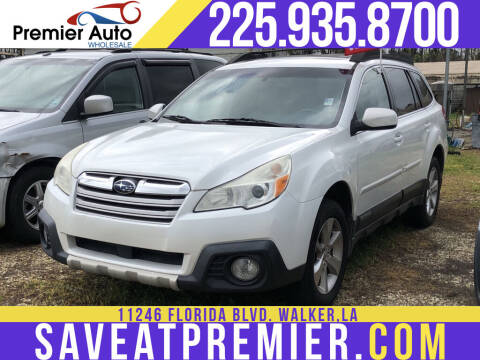 2013 Subaru Outback for sale at Premier Auto Wholesale in Baton Rouge LA