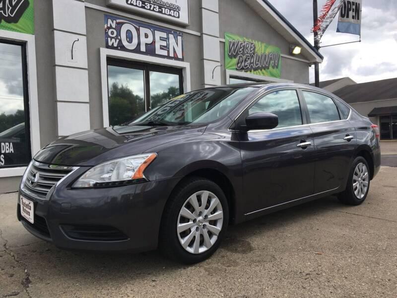 2013 Nissan Sentra for sale at MARIETTA MOTORS LLC in Marietta OH