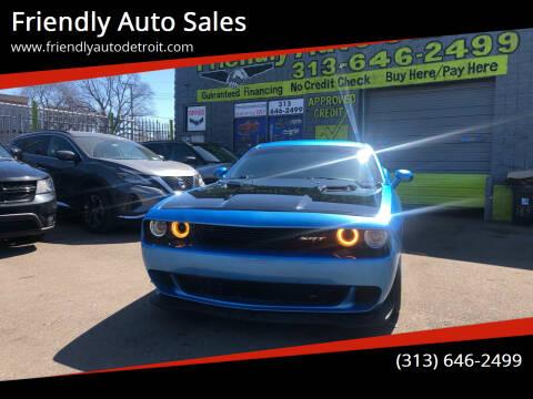 2016 Dodge Challenger for sale at Friendly Auto Sales in Detroit MI