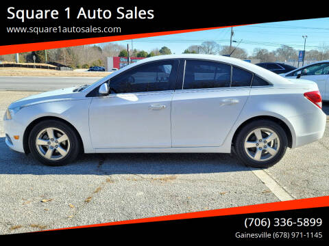 2014 Chevrolet Cruze for sale at Square 1 Auto Sales - Commerce in Commerce GA