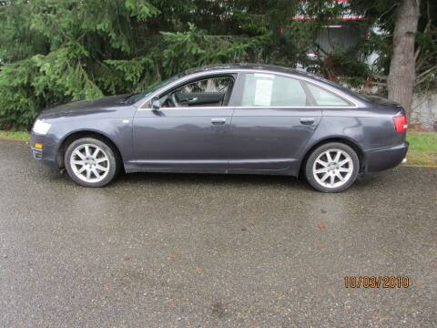 2005 Audi A6 for sale at B & C Northwest Auto Sales in Olympia WA