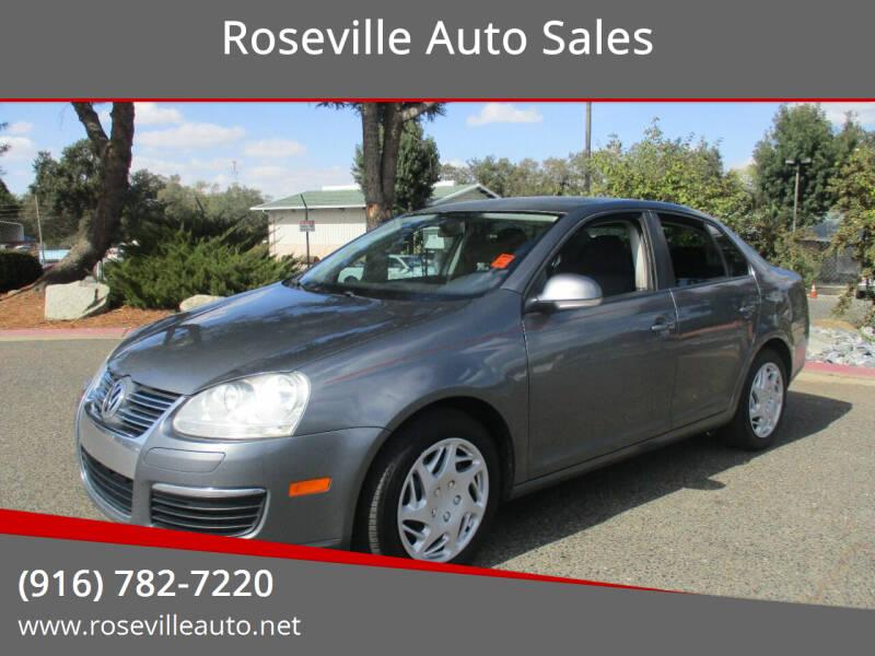 2010 Volkswagen Jetta for sale at Roseville Auto Sales in Roseville CA