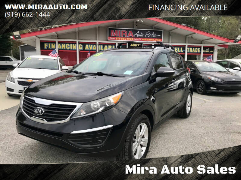 2013 Kia Sportage for sale at Mira Auto Sales in Raleigh NC
