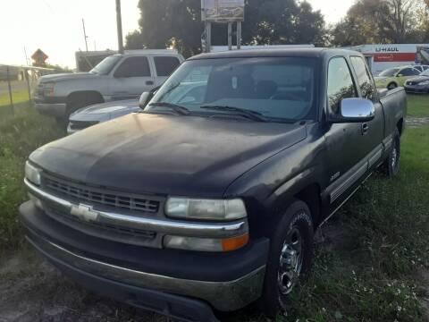 2001 Chevrolet Silverado 1500 for sale at GOLDEN GATE AUTOMOTIVE,LLC in Zephyrhills FL