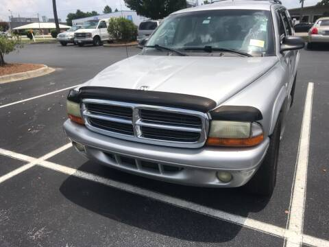 2001 Dodge Durango for sale at Nash's Auto Sales Used Car Dealer in Milton FL