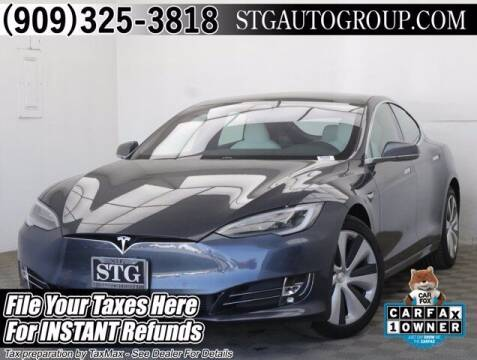 2020 Tesla Model S for sale at STG Auto Group in Montclair CA