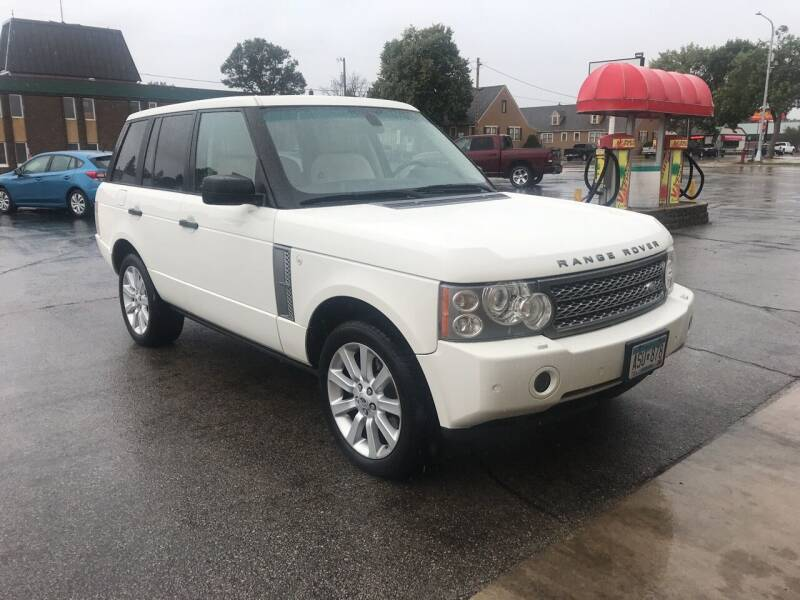 2006 Land Rover Range Rover for sale at Carney Auto Sales in Austin MN