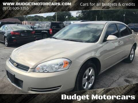 2008 Chevrolet Impala for sale at Budget Motorcars in Tampa FL