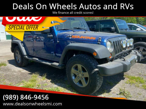 2010 Jeep Wrangler Unlimited for sale at Deals On Wheels Autos and RVs in Standish MI