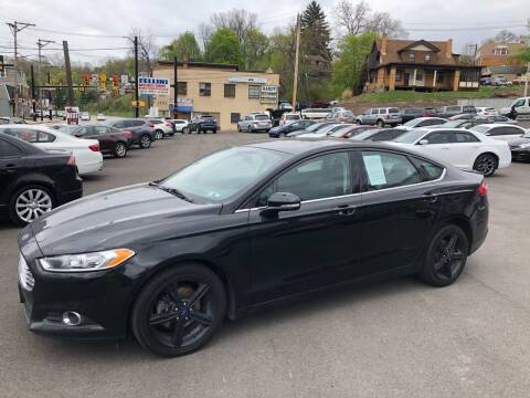 2016 Ford Fusion for sale at Fellini Auto Sales & Service LLC in Pittsburgh PA