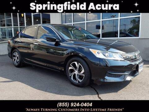 2017 Honda Accord for sale at SPRINGFIELD ACURA in Springfield NJ