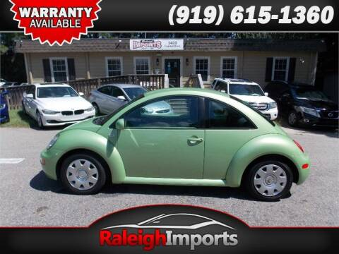 2003 Volkswagen New Beetle for sale at Raleigh Imports in Raleigh NC