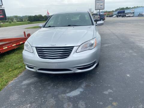 2011 Chrysler 200 for sale at Holland Auto Sales and Service, LLC in Somerset KY