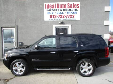 2007 Chevrolet Tahoe for sale at Ideal Auto in Kansas City KS