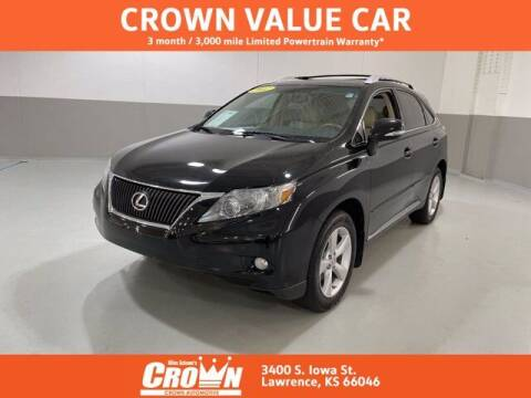 2012 Lexus RX 350 for sale at Crown Automotive of Lawrence Kansas in Lawrence KS