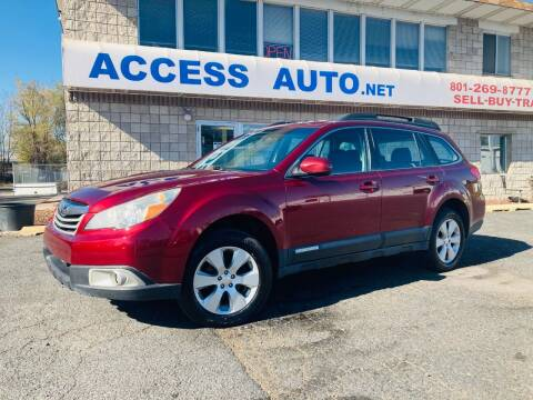 2012 Subaru Outback for sale at Access Auto in Salt Lake City UT