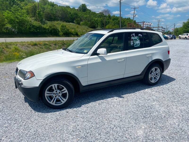 2004 BMW X3 for sale at Bailey's Auto Sales in Cloverdale VA