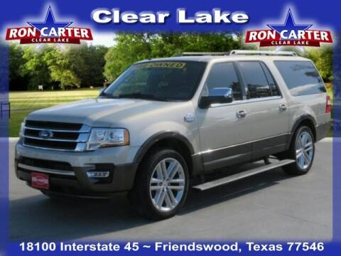 2017 Ford Expedition EL for sale at Ron Carter  Clear Lake Used Cars in Houston TX