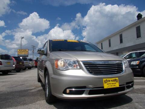 2014 Chrysler Town and Country for sale at Kevin Harper Auto Sales in Mount Zion IL