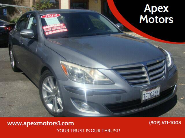 2014 Hyundai Genesis for sale at Apex Motors in Montclair CA