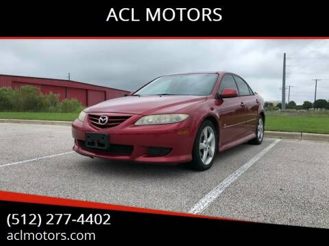 2005 Mazda MAZDA6 for sale at ACL MOTORS in Austin TX