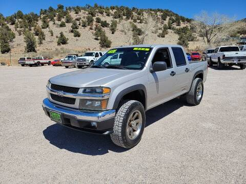 2006 Chevrolet Colorado for sale at Canyon View Auto Sales in Cedar City UT