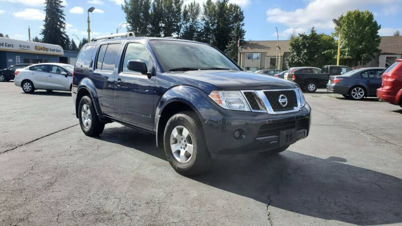 2008 Nissan Pathfinder for sale at Good Guys Used Cars Llc in East Olympia WA