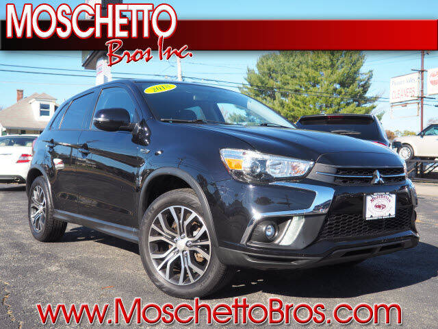 2018 Mitsubishi Outlander Sport for sale at Moschetto Bros. Inc in Methuen MA