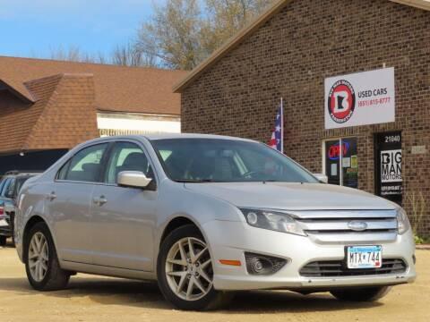 2010 Ford Fusion for sale at Big Man Motors in Farmington MN